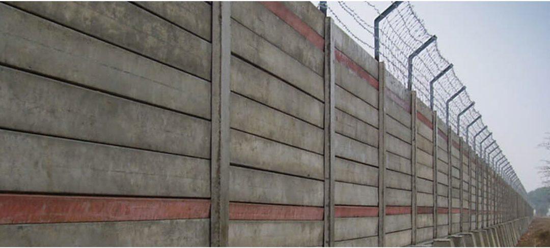 Precast Boundary Wall VS Brick Boundary Wall