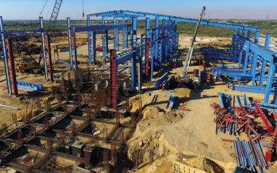 Construction of Largest Steel Rerolling Mill capacity in Pakistan: Ittefaq Group